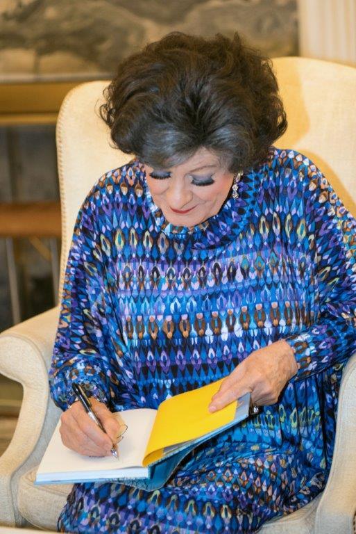 Evita signs her cookbook Evita's Bossie Sikelela